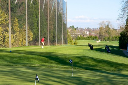 Langara Golf course - South Cambie neighbourhood