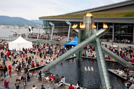 Olympic Cauldron - Coal Harbour neighbourhood