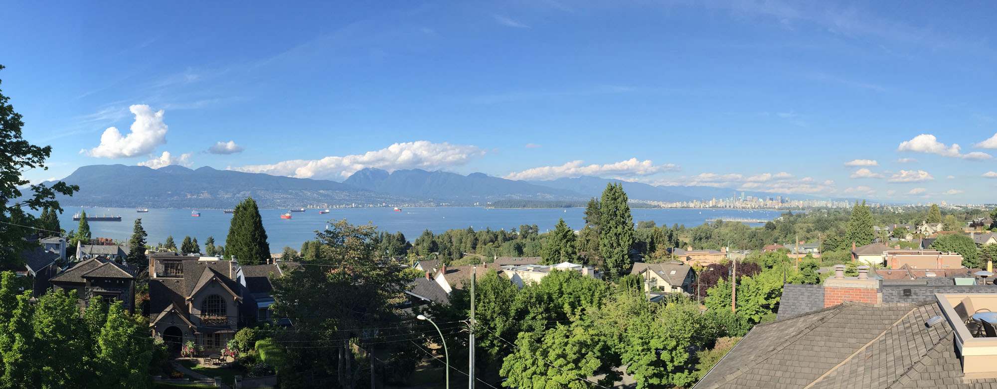 View of English Bay - Point Grey neighbourhood
