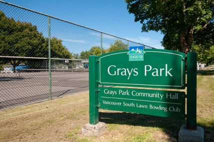 Greys Park - Vancouver Fraser neighbourhood
