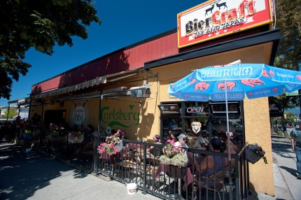 Bier Craft Restaurant - Vancouver Grandview neighbourhood