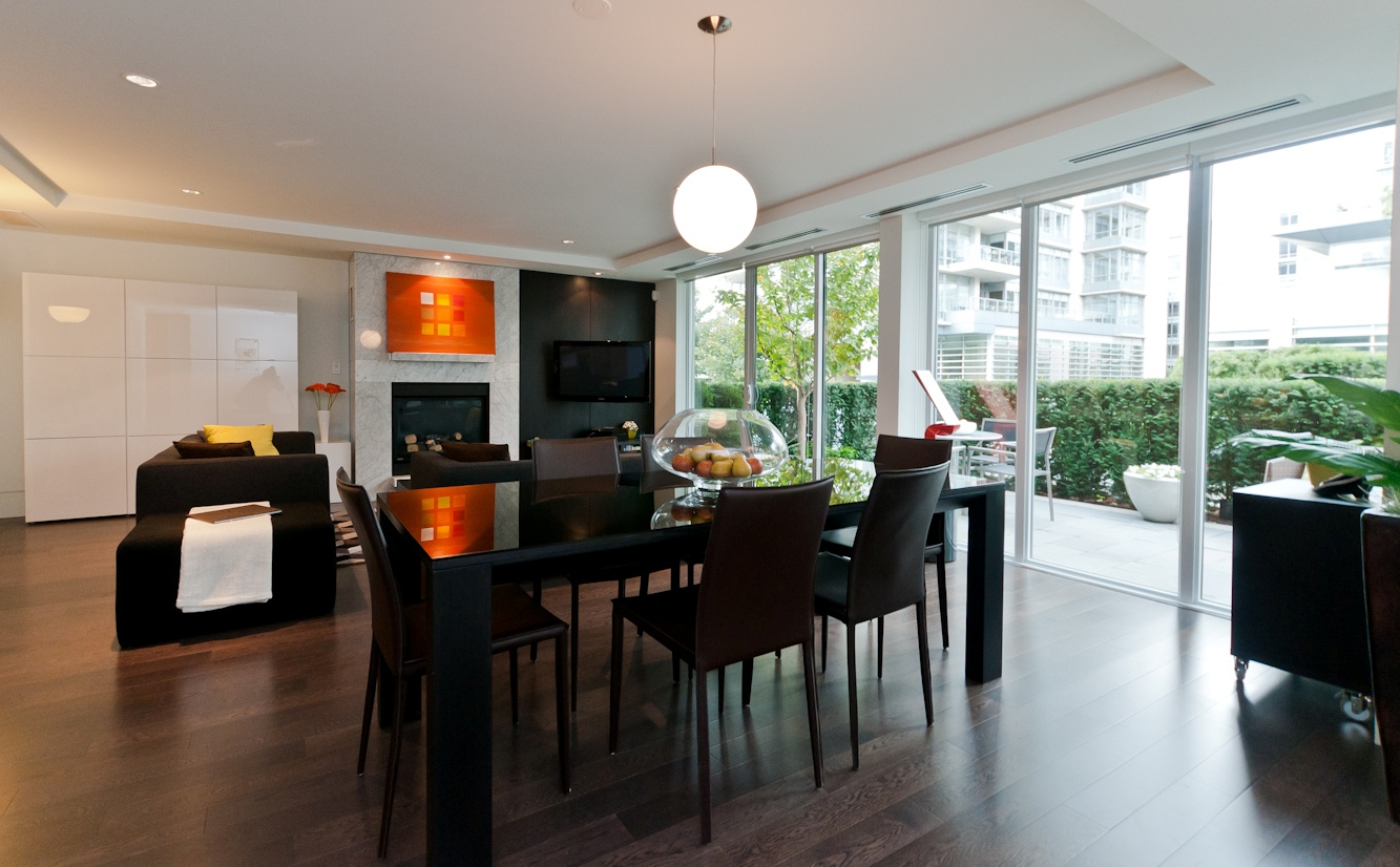 Living room - Yaletown - 1510 Homer Mews, Vancouver, BC, Canada