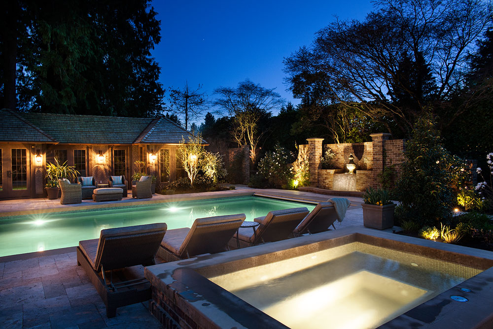 Pool and hot tub