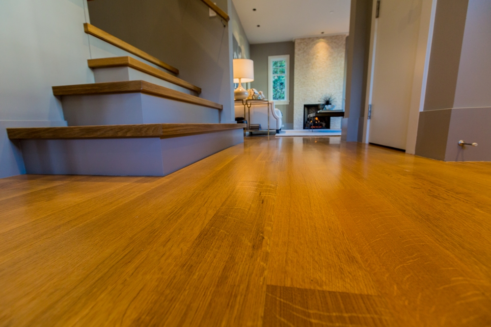 Gorgeous oak hardwood floors - Shaughnessy - 1338 West 15th Avenue, Vancouver, BC, Canada