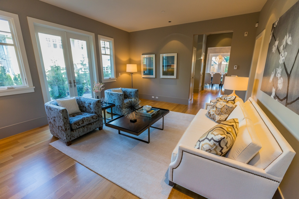 Living room - Shaughnessy - 1338 West 15th Avenue, Vancouver, BC, Canada