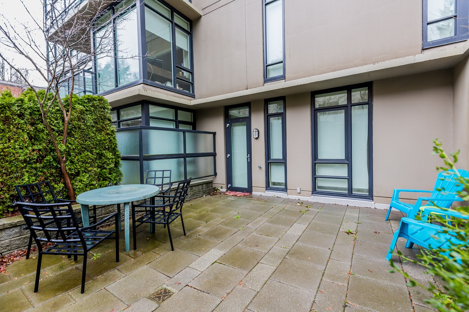 Private patio - Fairview - 1468 West 14th Avenue, Vancouver BC Canada