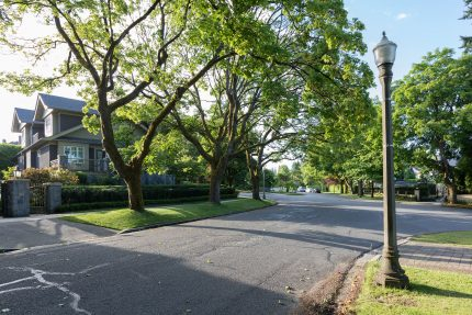 Connaught Drive - Shaughnessy neighbourhood