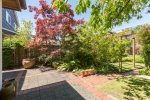 Private patio and gardens - Kitsilano - 3345 West 14th Avenue, Vancouver, BC