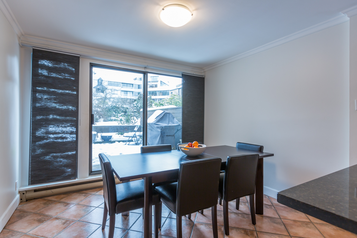 Dining Room - False Creek - 732 Millyard, Vancouver, BC