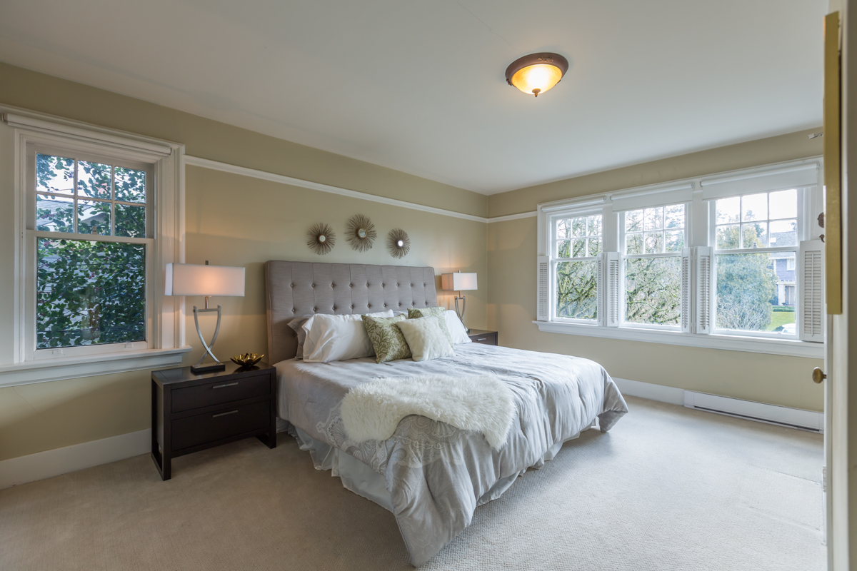 South facing bedroom with ensuite - Shaughnessy - 1475 WEST 33RD AVENUE VANCOUVER