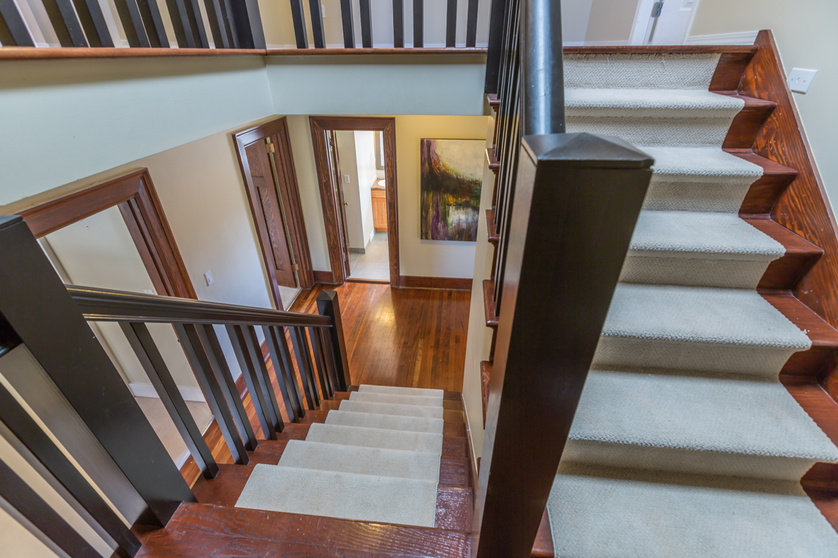 Staircase to top level - Shaughnessy - 1475 WEST 33RD AVENUE VANCOUVER