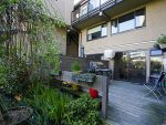 Patio in the summer - False Creek - 732 Millyard, Vancouver, BC