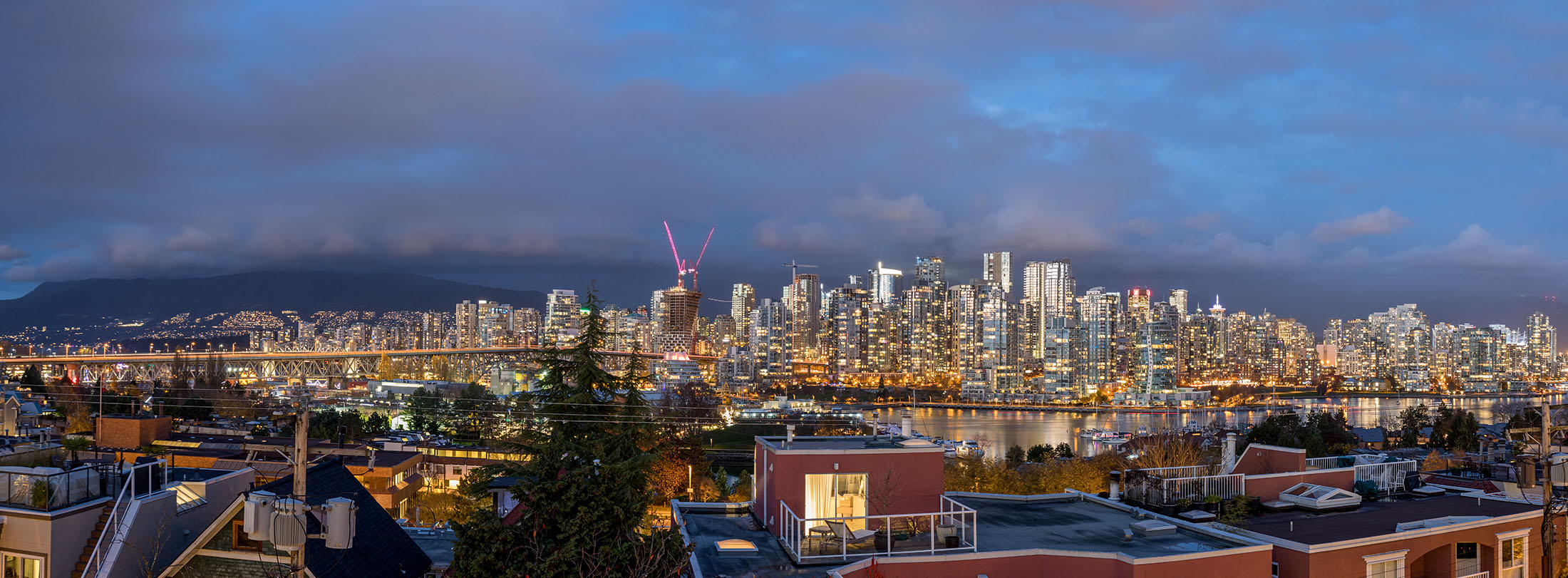 View from the roof deck - Fairview - 1244 west 7th avenue Vancouver