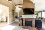 Top Floor Master Suite with Fireplace