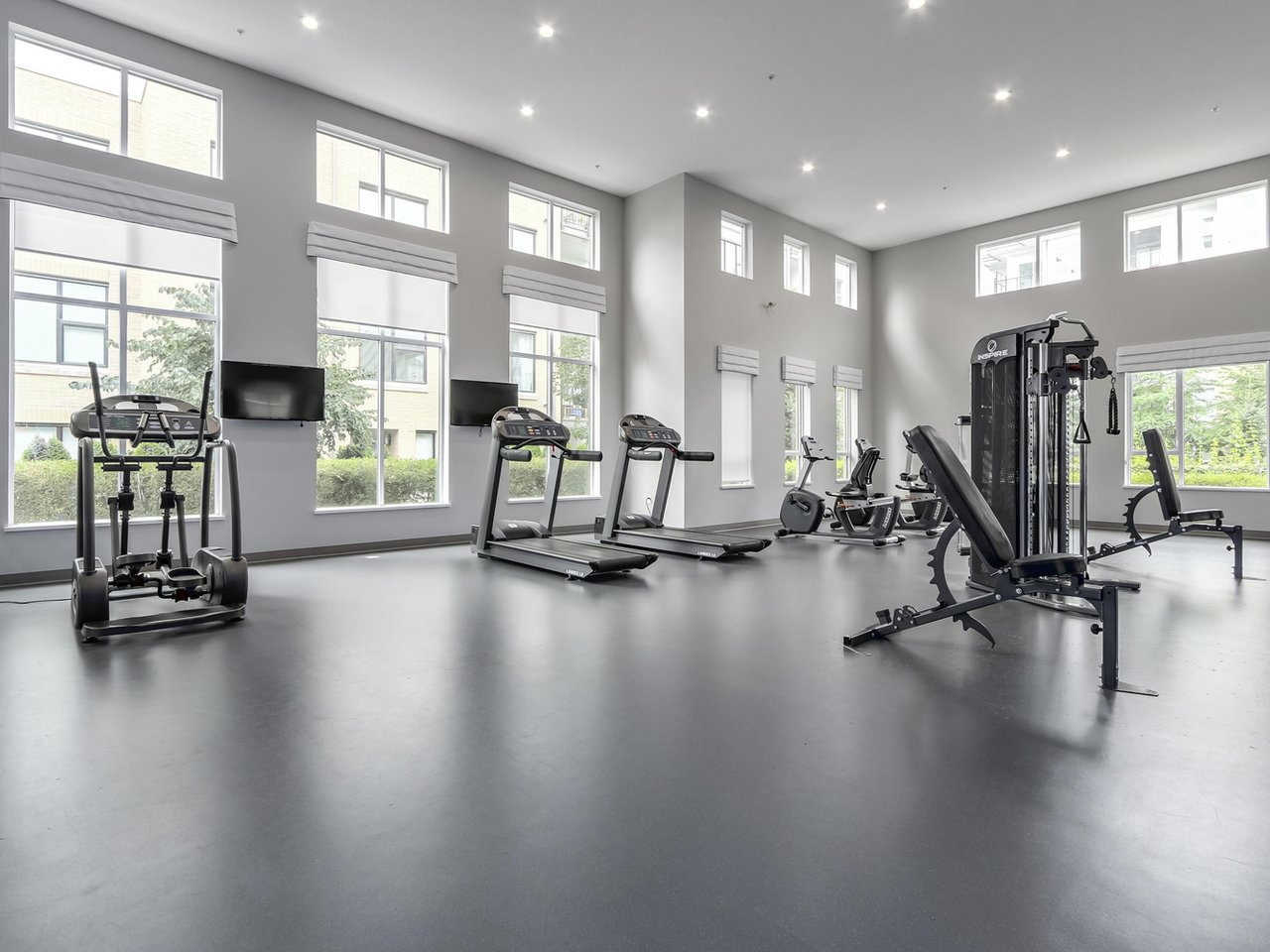 Building Amenity: Gym - West Cambie - 9388 Tomicki Avenue, Richmond, BC, Canada