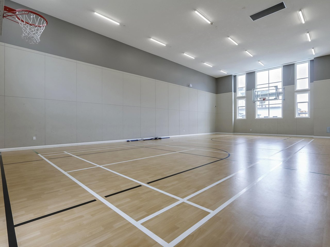 Building Amenity: Basketball Court - West Cambie - 9388 Tomicki Avenue, Richmond, BC, Canada