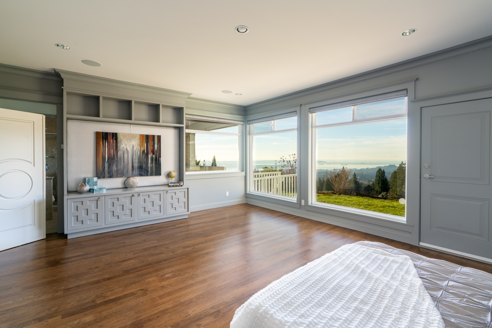 Master Bedroom View - Upper Lonsdale - 4245 St. Georges Avenue, North Vancouver