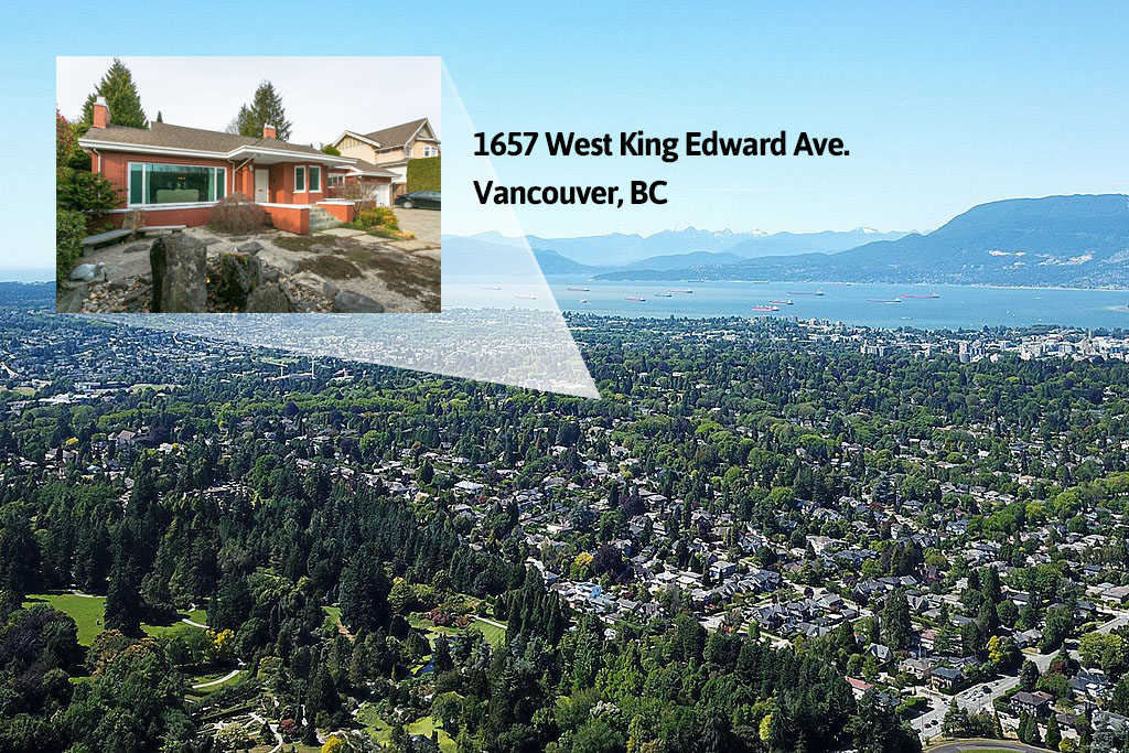 1657 W King Edward - Areal