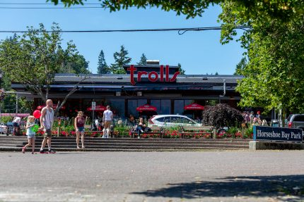 Trolls Restaurant at Horseshoe Bay, West Vancouver