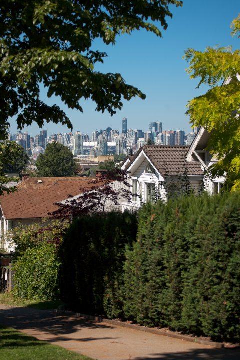 City view - Vancouver Grandview neighbourhood