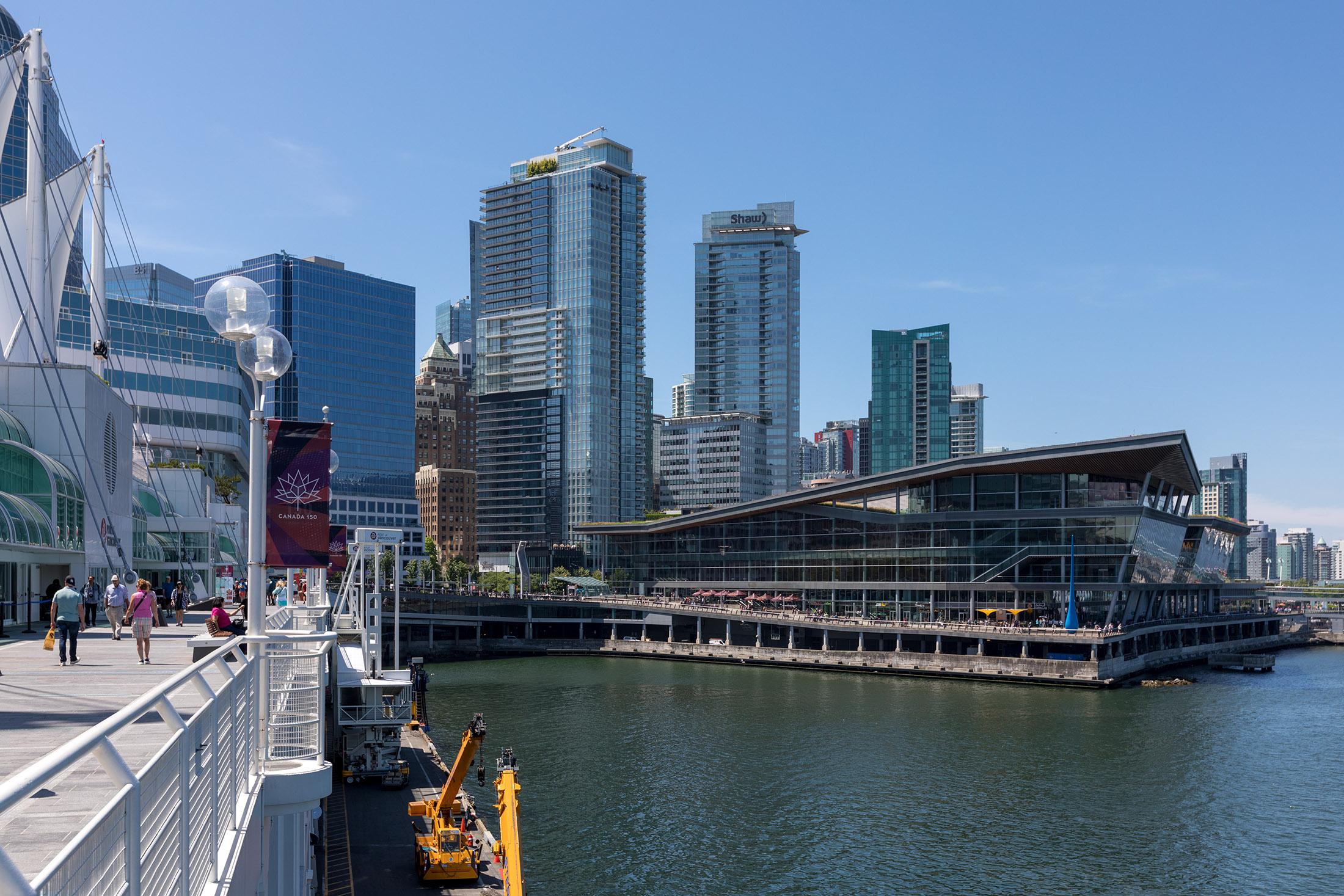 Vancouver Convention Centre - Coal Harbour neighbourhood