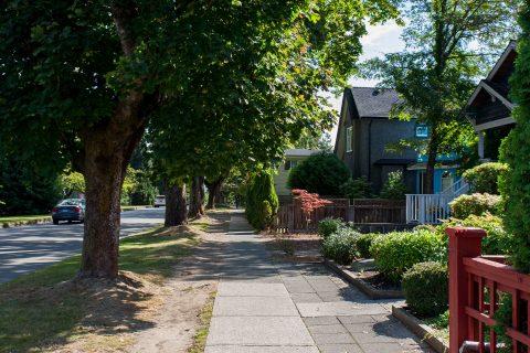 West 16th Avenue & Wallace St. - Dunbar neighbourhood