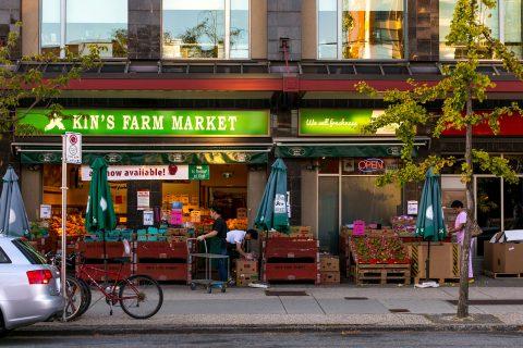 Kim's Market - Kerrisdale neighbourhood