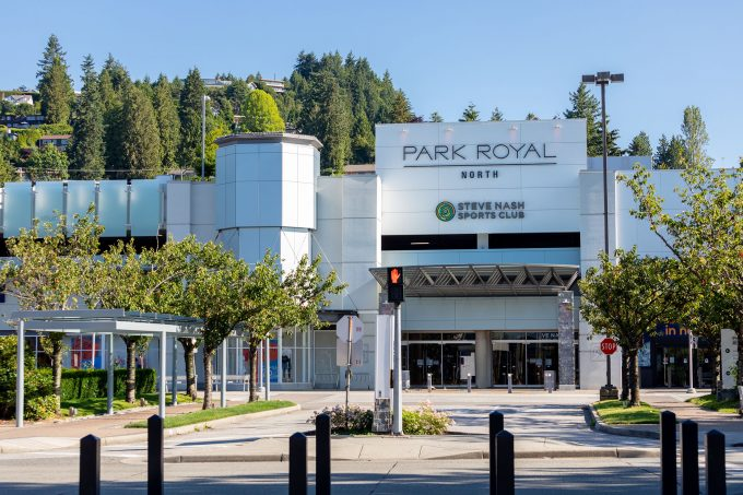 Park Royal Shopping Centre in West Vancouver